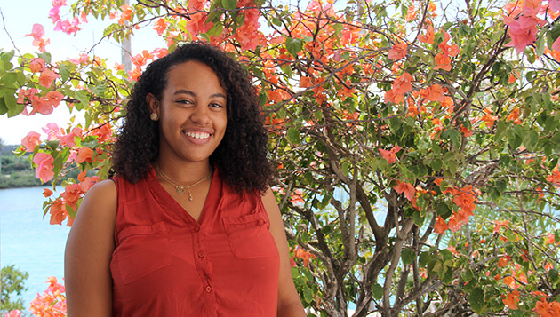 <p> 	Bermuda Program intern, Ashby Bradshaw.</p>