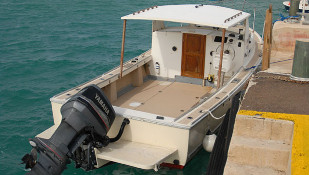 <p> 	26&#39; <em>Sea Dance</em>, an outboard vessel.</p>