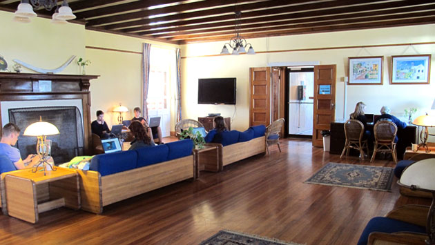 <p> 	Wright Hall lounge with wi-fi and cable TV.</p>